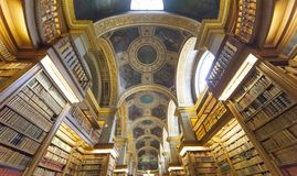 The library, Assemblee Nationale, Paris, France Stock Photo