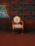 Library background Royalty Free Stock Images