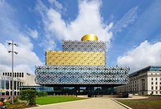 Library, Birmingham. Royalty Free Stock Image