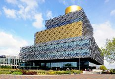 Library, Birmingham. Stock Photos