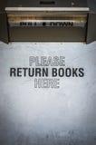 Library Book Return Box Royalty Free Stock Photo
