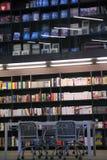 Library, bookcase Stock Photos