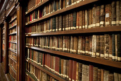 Library books Stock Images
