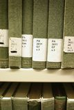 Library books Stock Photos
