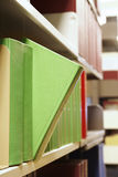 Library Books. Book selection Royalty Free Stock Image