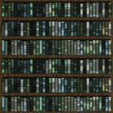 Library Books Background Stock Image