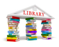 Library books icon Royalty Free Stock Photos