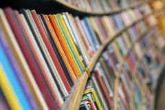Library books. Photo of Library books, close up Royalty Free Stock Image