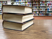 Library Books Royalty Free Stock Photos