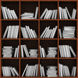 Library bookshelf full of books. Royalty Free Stock Image