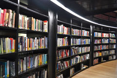 Library Bookshelves Royalty Free Stock Images