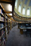 Library, British Museum. The library in the Reading Room of the famous British Muserum Stock Photography