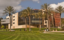 Library at Cal Poly Pomona. This is a picture of the library at Cal Poly Pomona (California Polytechnic University at Pomona) - a large public university at Stock Photo