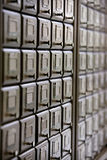 Library catalog Royalty Free Stock Photography