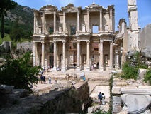 Library of Celsus. Ephesus, Turkey Stock Image