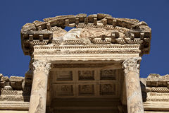 The Library of Celsus. Ephesus, Izmir, Turkey Stock Photography