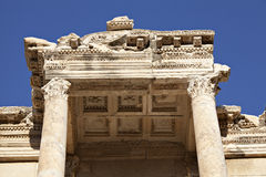 The Library of Celsus. Ephesus, Izmir, Turkey Stock Photos
