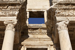 The Library of Celsus. Ephesus, Izmir, Turkey Stock Image