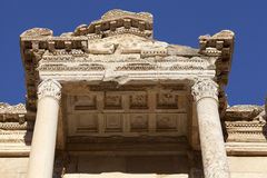 The Library of Celsus. Ephesus, Izmir, Turkey Stock Images
