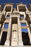 The Library of Celsus. Is an ancient building in Ephesus, Izmir, Turkey Stock Photos