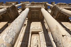The Library of Celsus. Is an ancient building in Ephesus, Izmir, Turkey Stock Photo