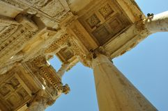 Library of Celsus. In Ephesus, Turkey Royalty Free Stock Photos