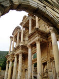 Library of Celsus (Efes, Turkey). The library of Celsus is an ancient Roman building in Ephesus, Anatolia, now part of Selçuk, Turkey Stock Photos