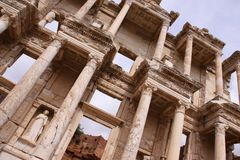 The Library of Celsus at Ephesus Stock Photo