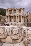 The Library of Celsus at Ephesus Royalty Free Stock Images