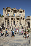 The library of Celsus in Ephesus. Izmir, Turkey Royalty Free Stock Photography