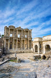 Library of Celsus in Ephesus Royalty Free Stock Photo