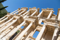 Library of Celsus in Ephesus Stock Images
