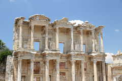 Library of Celsus in Ephesus Royalty Free Stock Image