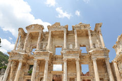 Library of Celsus in Ephesus Stock Photo
