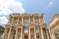 Library of Celsus in Ephesus Stock Photos