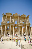 The library of Celsus in Ephesus Stock Image