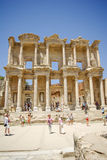 The library of Celsus in Ephesus Royalty Free Stock Images