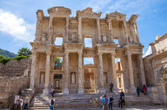 The Library of Celsus , Ephesus Royalty Free Stock Image