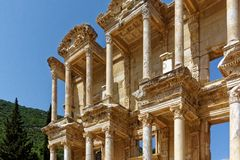 Library of Celsus at Ephesus Royalty Free Stock Image
