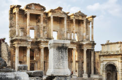 Library of Celsus, Ephesus Royalty Free Stock Photos