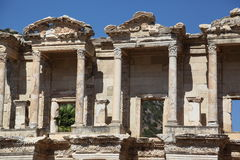 The library of Celsus, Ephesus, Turkey Royalty Free Stock Photography