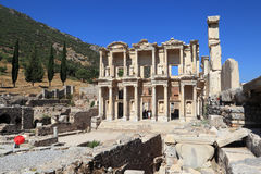 Library of Celsus, Ephesus, Turkey Royalty Free Stock Photos