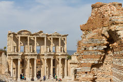 Library of Celsus Stock Images