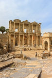 Library of Celsus in Ephesus, Turkey Stock Photo