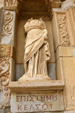Library of Celsus in Ephesus, Turkey Royalty Free Stock Photos