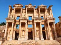 Library of Celsus Royalty Free Stock Photo