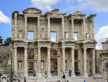 Library of Celsus Ephesus Turkey Royalty Free Stock Photography