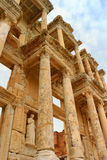 Library of Celsus in Ephesus, Turkey Royalty Free Stock Images
