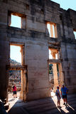Library of Celsus inside, Ephesus Royalty Free Stock Images