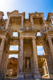 The library of Celsus Stock Photos
